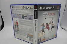 EYE TOY : KINETIC  playstation 2 pal