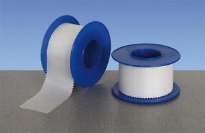 1 Rolle Pflaster Miro-Silk 1,25cm 5 Meter weiß hautfreundlich Fixierpflaster