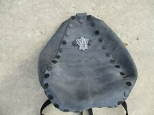 Unique Rubber Riveted Biker Backpack Duffle for Cyclist or Fan by Extredz