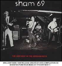 Sham 69 - The Essential Greatest Hits Compilation - RARE 70's Punk New Wave CD