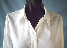 Langgröße-Hüftlang Damenblusen,-Tops & -Shirts mit Baumwollmischung ohne Muster