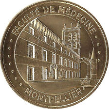 34 MONTPELLIER FACULTÉ DE MÉDECINE MÉDAILLE MONNAIE DE PARIS 2016 JETON COINS