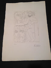 """Picasso """"Suite Vollard"""" Bloch #157, Limited Edition, Picasso Family Authorized."""