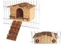 Nagerhaus Nature Gitterbefestigung Kaninchenhaus Meerschweinchen Nager Haus