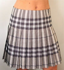Burberry Cotton Checked Skirts for Women