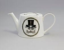 9952269 Porzellan  Tee-Kanne Katze mit Zylinder Jameson&Tailor  1,2l H12cm
