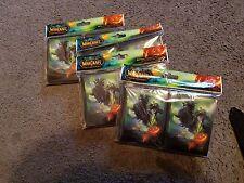 World of Warcraft MTG Magic Headless Horseman Card Sleeves 80 Count Pack L@@K!