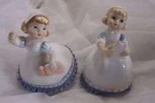 Vintage Pair of Lefton Figurines of Nurses ca 1955, KW 8950,