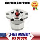 High Pressure Hydraulic Gear Pump SAE Flat Key 0.8ML/R 4300 RPM 21MPa PT3/8'' US