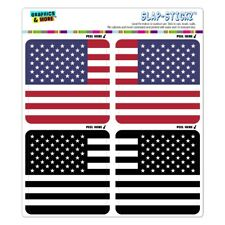 American Flag Subdued Reserved USA Craft Scrapbook Planner Sticker Set
