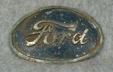 Original 1939 1940 1941 Ford Model 9N Tractor Hood Emblem 9N16600