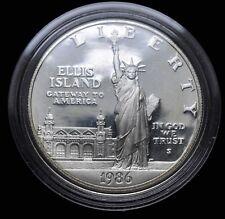 1986 USA 1 Oz. Silver Ellis Island