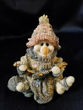 Boyds Bears & Friends Wee Folkstone Pearl The Knitter Edition/Pc #4E/559