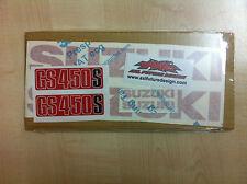Suzuki GS 450 S - adesivi/adhesives/stickers/decal
