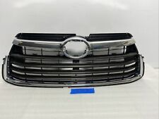 For Toyota Highlander 14-16 Front Bumper Upper+Lower Vent Hole Grille o Grill