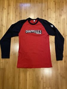 Official Comedy Central Dave Chappelle's Show Long Sleeve T-Shirt-  Large
