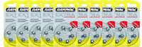 60 Rayovac Extra Advanced Hearing Aid Batteries, SIZE 10 , FREE USA SHIPPING!