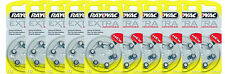60 Rayovac Extra Advanced Hearing Aid Batteries, SIZE 10 , FREE USA SHIPPING!