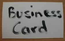 **MYSTERY BUSINESS CARD** HELP A SELLER OUT