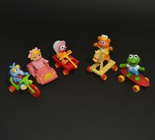 Muppet Babies Happy Meal Toys COMPLETE Set of 5 CANADIAN 1986 McDonalds Figures
