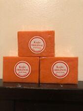 3 x Original Kojic Acid  Soap Bars Skin Whitening. USA SELLER