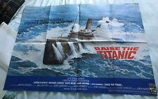 More details for raise the titanic uk quad sheet cinema poster.original lou grade clive cussler