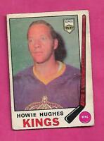 1969-70 OPC # 142 KINGS HOWIE HUGHES GOOD  CARD (INV# A9308)