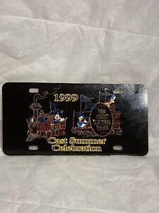 Walt Disney License plate 1999