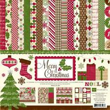"ECHO PARK ""MERRY CHRISTMAS"" PAPER PACK HOLIDAYS FAMILY  SCRAPJACK'S PLACE"