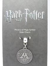 NUOVO Autentico Ufficiale Harry Potter Argento Placcato Ministero della Magia Slider Charm
