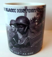 Army Black History Month Coffee Mug Soldiers Fort Sill Oklahoma 2011 February