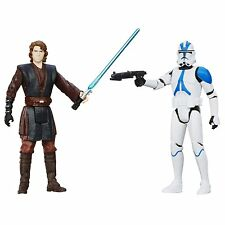 Star Wars Mission Series Coruscant Pack Anakin Skywalker and 501st Clone Trooper