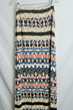 Women's Skirt Hippie Tie Dye Colorful Cynthia Rowley XL Comfy Maxi Earthy Colors