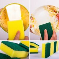 28PCS Sponge Eraser Cleaning Pads Dish Washing Stains Removing Kitchen