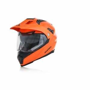 Acerbis Adults FS-606 Dual Enduro Adventure Motor Bike Helmet With Visor