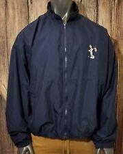 Mens Vtg Golf Jacket full zip Buggs Bunny Blue XXL 2001 Warner Bros Studio Store