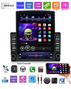 Android 9.1 HD 9.7In Car Stereo Radio MP5 Player Touch Screen GPS Mirror Link