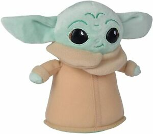 6001180 Official Disney The Child Baby Yoda Grogu Mandalorian Plush Toy  18 cm