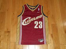 Vintage 2003 NIKE LEBRON JAMES CLEVELAND CAVALIERS NBA Youth Swingman JERSEY Sm