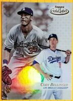🔥🔥🔥$$$**CODY BELLINGER**$$$🔥🔥🔥ROOKIE CARD🔥2017 Topps🔥GOLD Label🔥Class 1