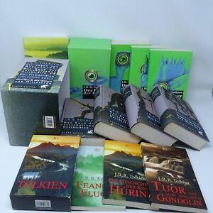 J. R. R TOLKIEN Herr der Ringe 1-3 Silmarillion Hobbit Sagen Mittelerde 11x Buch
