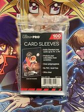 Protège-cartes Pokémon - Sleeves x100 Ultra PRO Standard Stor Safe Transparent