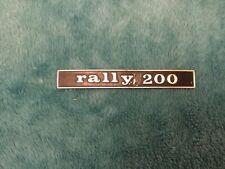 Vespa Rally 200 frame badge