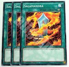 Yugioh LDK2-ITJ27 3x SALAMANDRA (SALAMANDRA) Comune