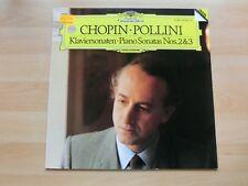 Chopin Pollini Klaviersonaten No. 2 & 3 DGG