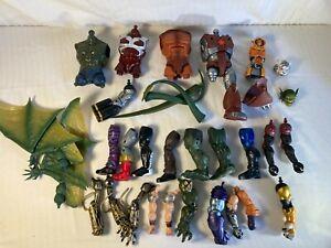 Marvel Legends Build-a-figure parts lot 34 pieces