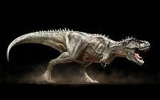 Lámina-Roaring T-rex Dinosaurio (imagen Cartel prehistóricos Jurassic Park)