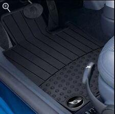Mini Cooper Rubber Floor Mats Floormat R50 R52 R53 2002-2006 Set Of 2 Front OEM