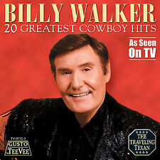 """BILLY WALKER, CD """"20 GREATEST COWBOY HITS""""  NEW SEALED"""