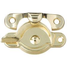 ( 12 )  Window Sash Locks Bright Brass
